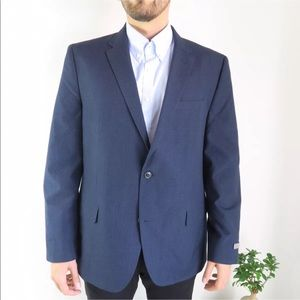 Ben Sherman Hanwell Navy/Marine Sport Coat Jacket